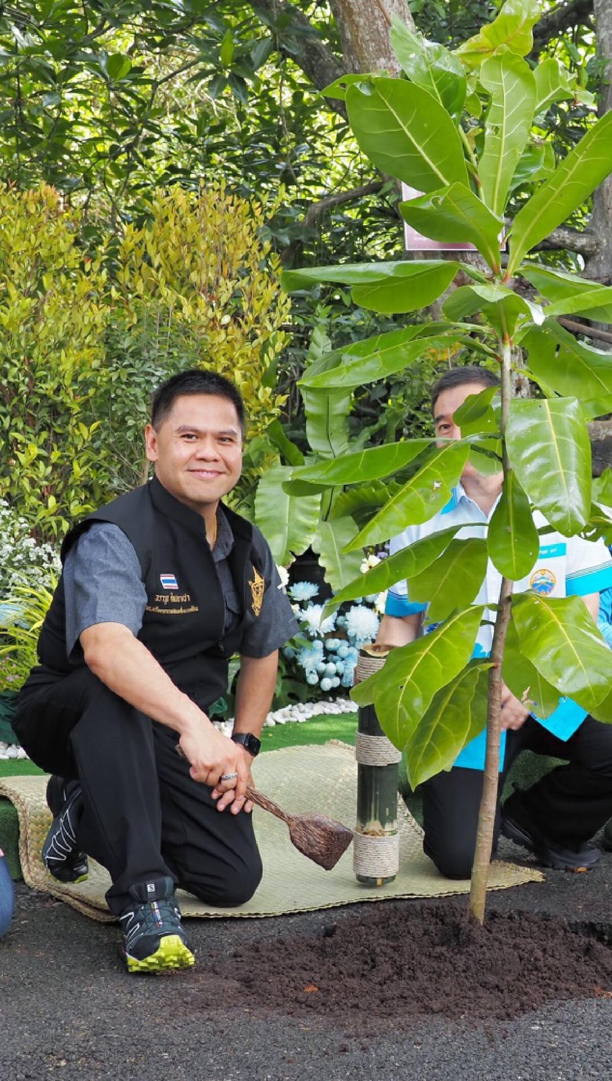 """""""วราวุธ"""" เปิดโครงการป่าชายเลนในเมือง สวนป่าประชารัฐ เพื่อความสุขของคนไทย"""