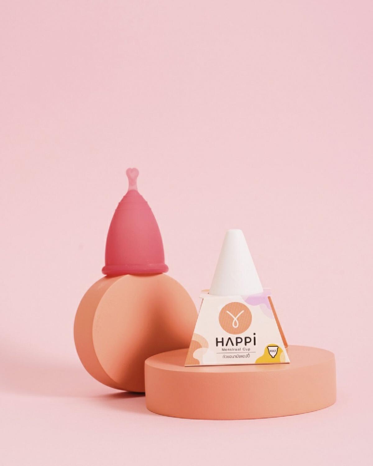 """เทรนด์ใหม่ เอาใจสาวๆ เปิดตัวนวัตกรรม """"ถ้วยอนามัย"""" แรกของไทย แบรนด์ Happi(แฮปปี้)"""