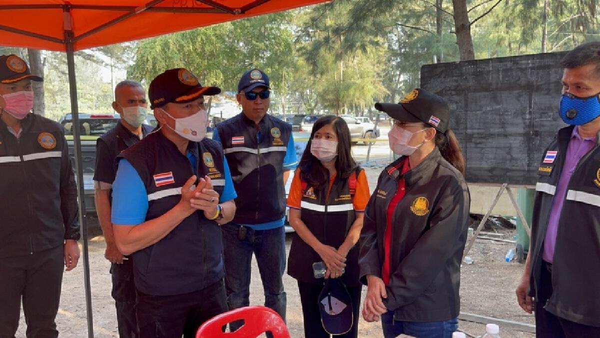 รมว.สุชาติ มอบที่ปรึกษาฯ ลงพื้นที่เพชรบุรีติดตามช่วยเหลือลูกจ้างกรณีเรือล่มกลางอ่าวไทยที่ อ.ชะอำ