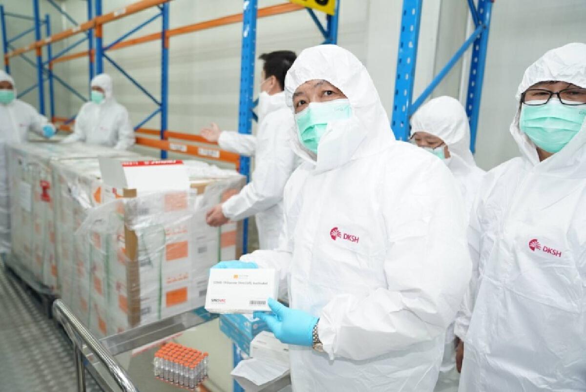สธ. พร้อมกระจายวัคซีนโควิด 19 ล็อตแรก ให้โรงพยาบาลฉีดกลุ่มเป้าหมาย ปลาย ก.พ.นี้