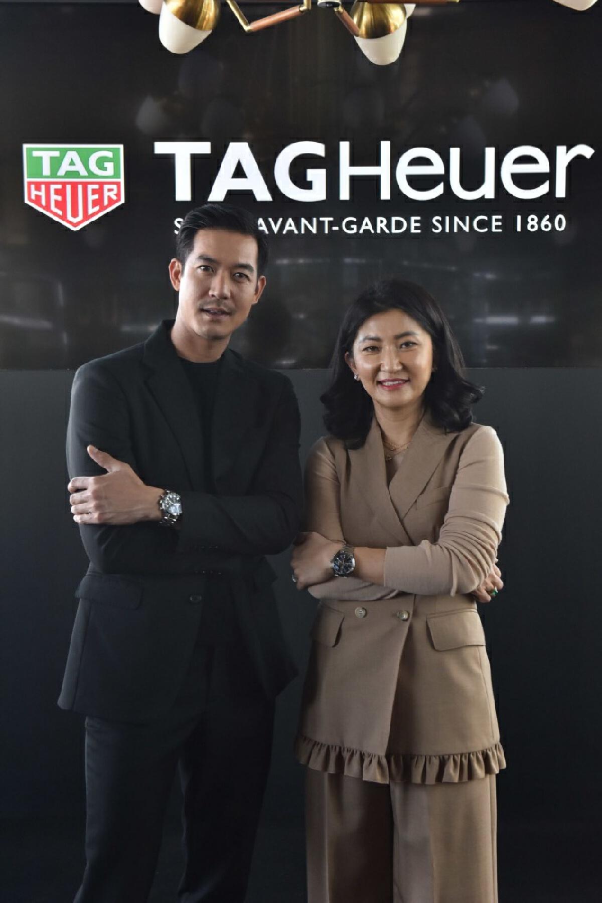 บอสหญิงแปซิฟิกา นำทีม 2 แบรนด์ยักษ์ใหญ่ระดับโลก TAG Heuer ร่วมกับ Porsche สร้างประวัติศาสตร์ครั้งใหม่ รังสรรค์นาฬิกาหรู
