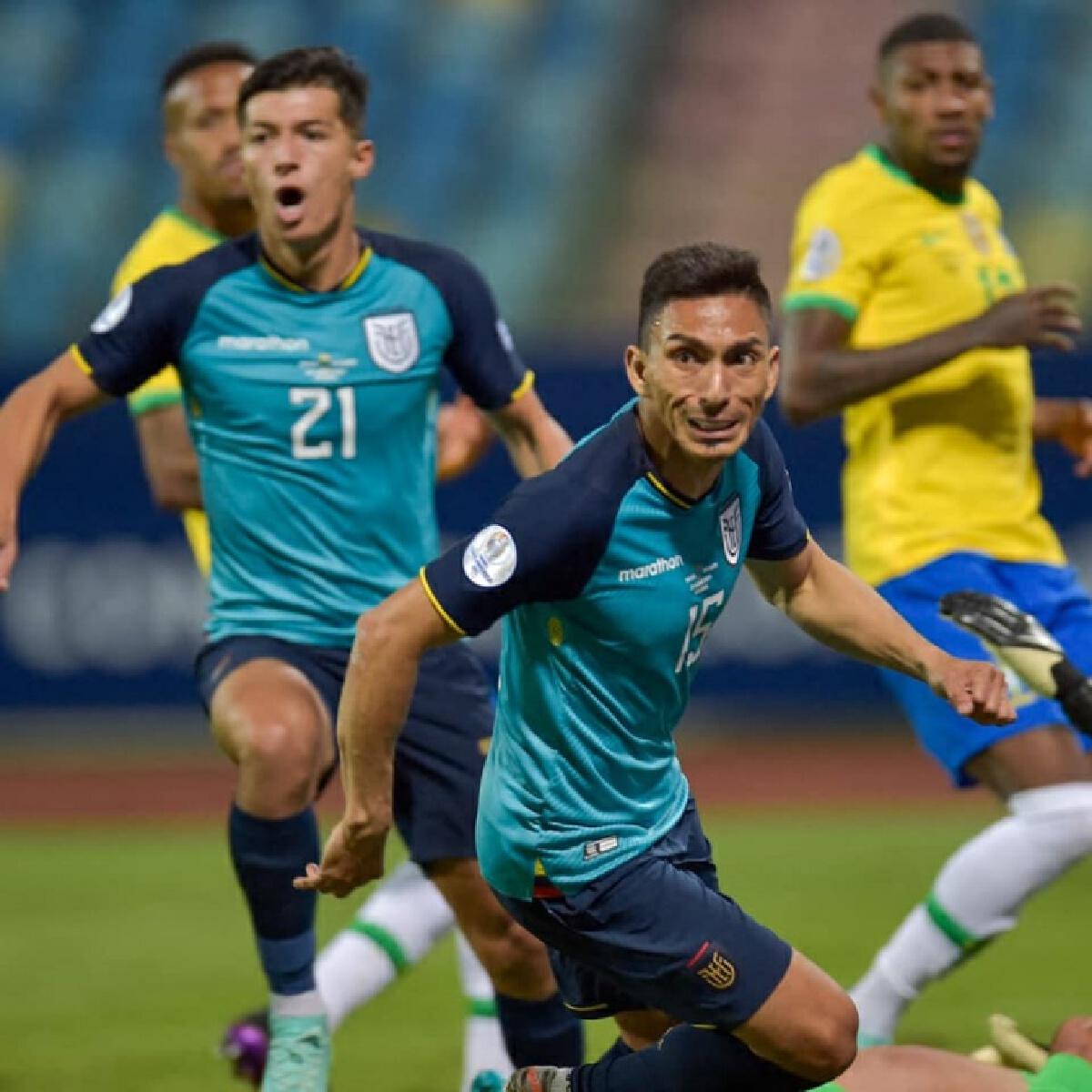 """ทีมชาติบราซิลแบ่งแต้มเอกวาดอร์เข้ารอบ8 ทีม""""โคปาอเมริกา2021"""""""