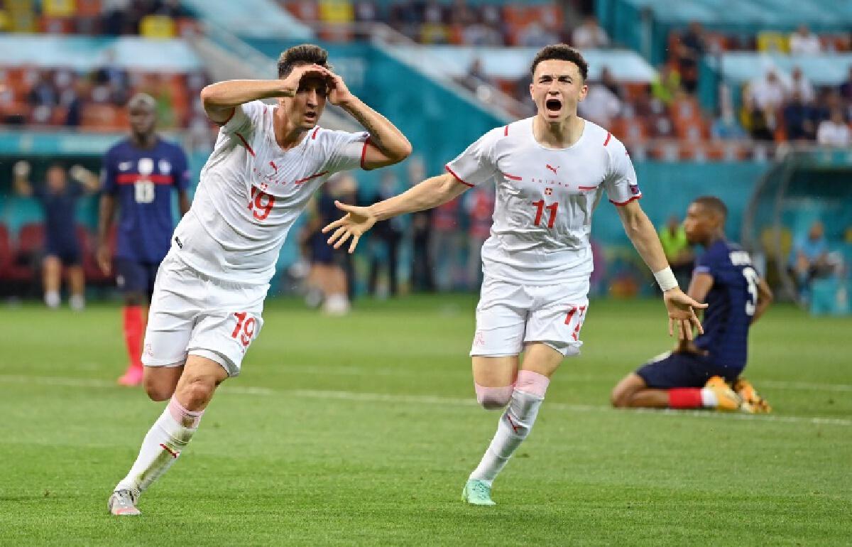 """""""สวิสส์""""แม่นโทษส่ง """"ฝรั่งเศส""""จอดป้าย16 ทีม """"ยูโร2020"""""""