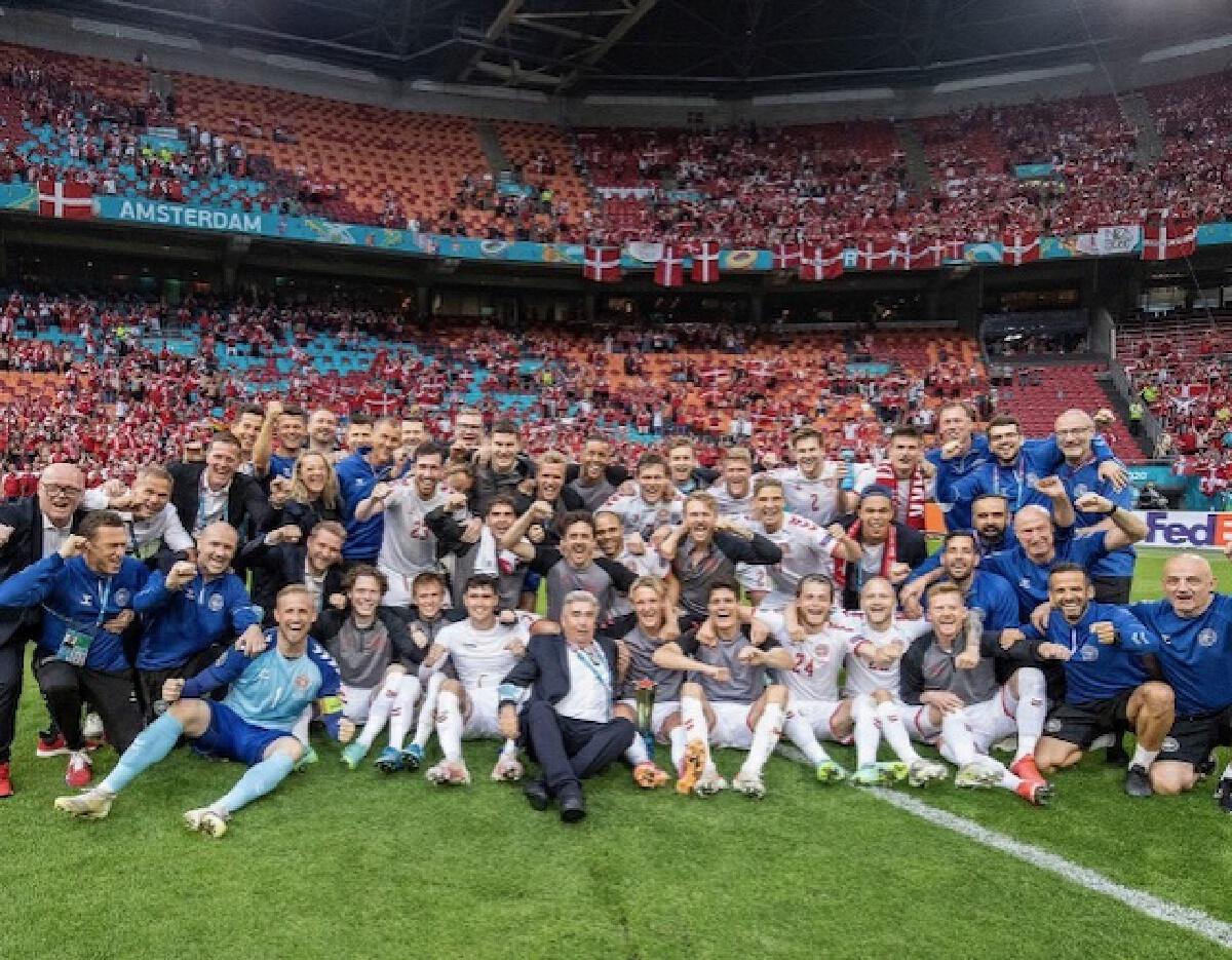 """""""ยูโร2020"""" 8 ทีมสุดท้าย เบลเยียมปะทะอิตาลี-อังกฤษลุ้นเอาตัวรอดจากยูเครน"""