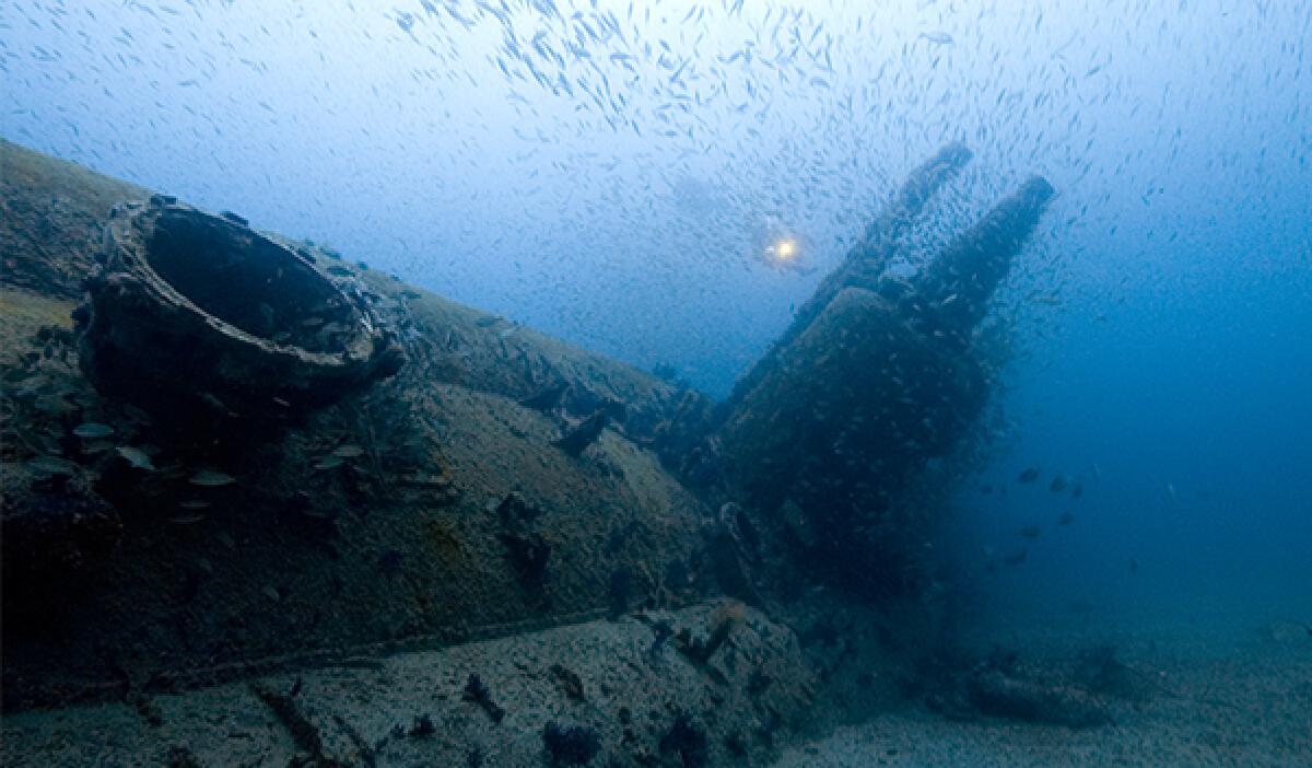 """เคยหรือยังกับการ """"ดำน้ำ"""" ลงดูซากเรือที่อับปางช่วงสงคราม"""