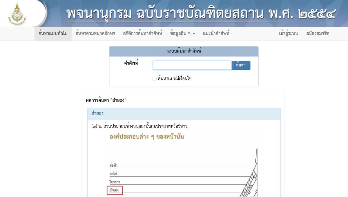 """""""ลำยอง"""" คุณมองคำนี้ ด้วยความหมายแบบไหน ซึ่งพจนุนากรมไทย ได้ชี้ไว้แล้ว"""