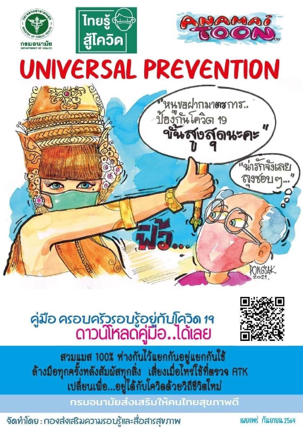 ภาพจากเพจไทยรู้สู้โควิด