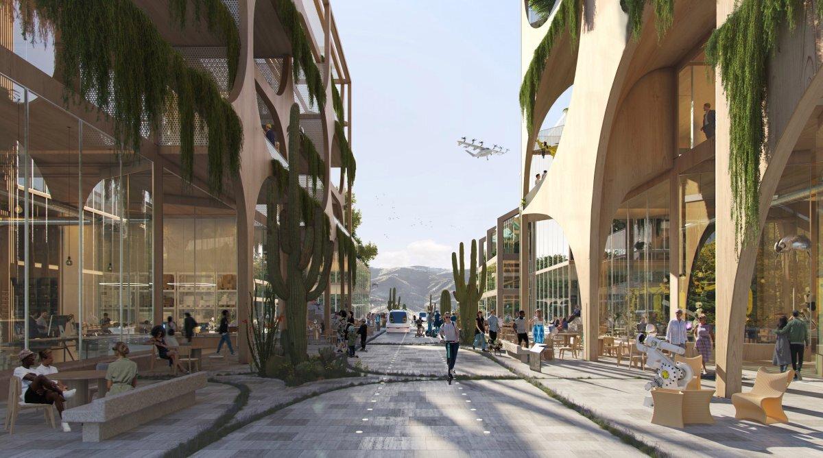 """เทโลซา """"เมืองทุนนิยมใหม่"""" ที่คิดมาเพื่อปิดช่องว่างระหว่างรายได้"""