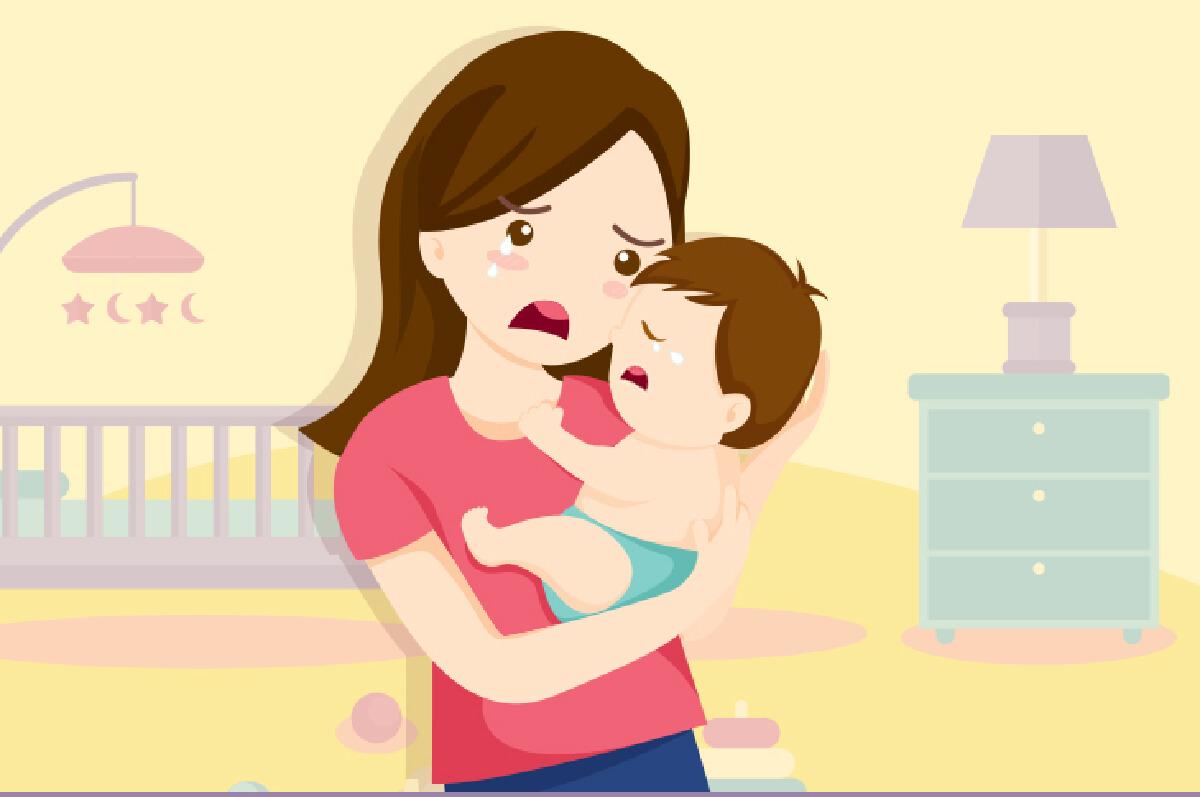 """อย่าปล่อยให้ """"ซึมเศร้าหลังคลอด"""" จนทำร้ายลูกและตัวเอง"""