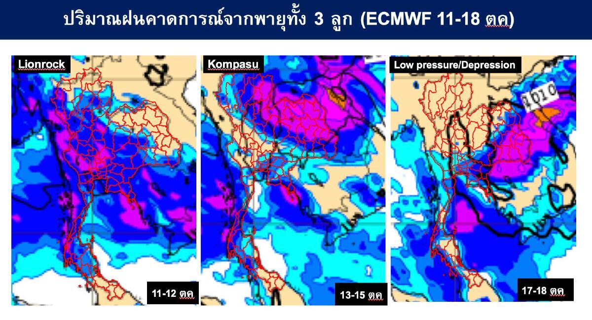 """พายุเข้าไทย 3 ลูก """"เสรี ศุภราทิตย์"""" เผยพฤติกรรมน้ำเปลี่ยน """"เฝ้าระวังสูงสุด"""""""